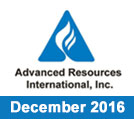 Advanced Resources International Newsletter December 2016 Issue