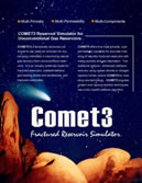 Comet3 Reservoir Simulator for Gas Shale and Coalbed Methane (CBM)
